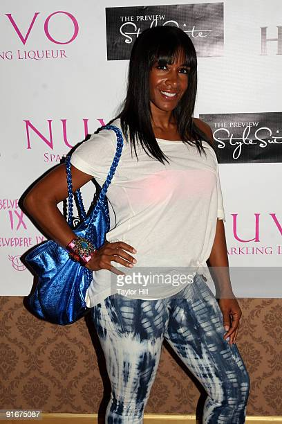Sheree Whitfield of Real Housewives of Atlanta visits the Preview Style Suite for the 2009 BET Hip Hop Awards at Rare on October 9, 2009 in Atlanta,...