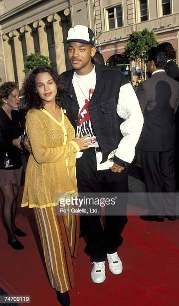 Sheree Zampino and Will Smith at the Manns Chinese Theater in Hollywood, California