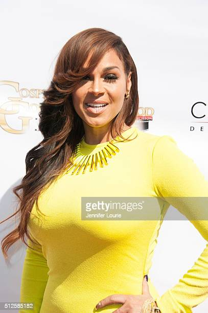 Sheree Zampino arrives at the Gospel Goes To Hollywood event at the Vibiana on February 26, 2016 in Los Angeles, California.