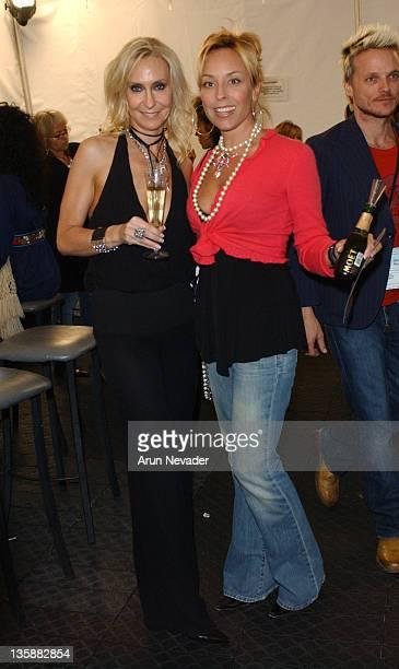 Sheri Bodell and Julie Miller during Mercedes-Benz Spring 2005 Fashion Week at Smashbox Studios - Sheri Bodell - Backstage at Smashbox Studios in...