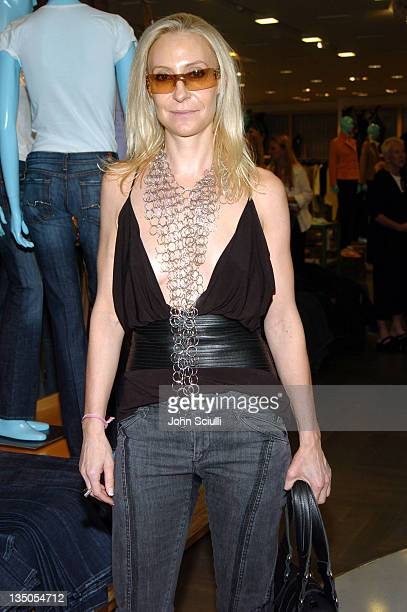 Sheri Bodell during 7 For All Mankind Denim Jeans Crystallized with Swarovski Release Party at Barneys in Beverly Hills California United States