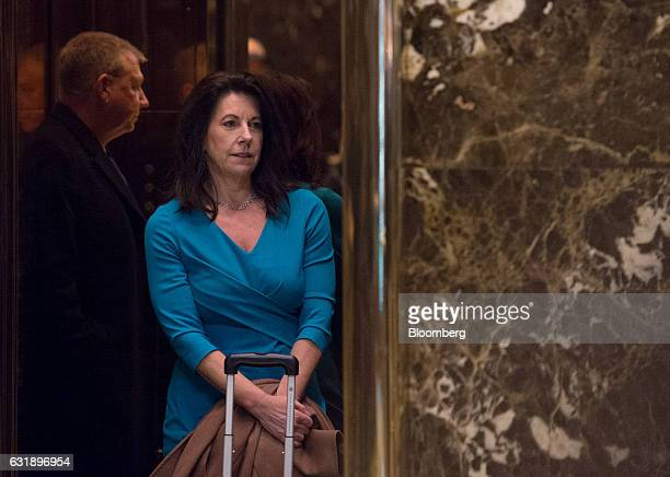 Sheri Dillon attorney for US Presidentelect Donald Trump exits the elevator at Trump Tower in New York US on Tuesday Jan 17 2017 Better days may be...