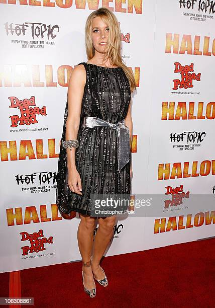 Sheri Moon arrives to the Los Angeles premiere of Halloween at Grauman's Chinese Theater on August 23 2007 in Hollywood California