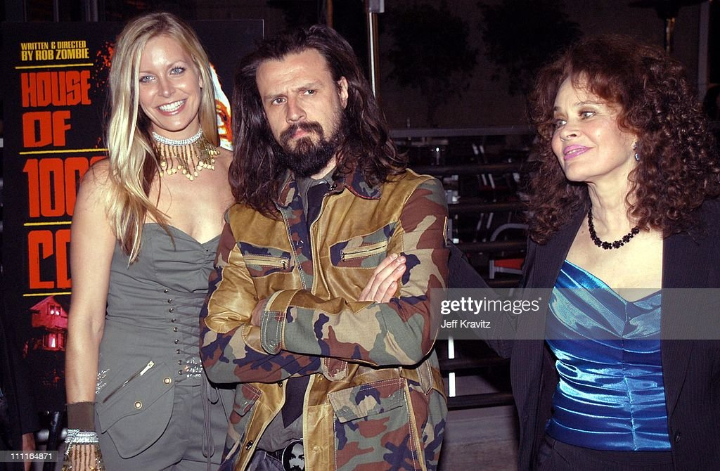 Sheri Moon, Rob Zombie and Karen Black during LionsGate Films' 'House of 1000 Corpses' Premiere at ArcLight Cinemas in Hollywood, CA, United States.