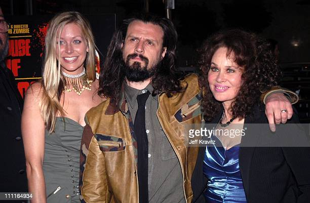 Sheri Moon Rob Zombie and Karen Black during LionsGate Films' House of 1000 Corpses Premiere at ArcLight Cinemas in Hollywood CA United States