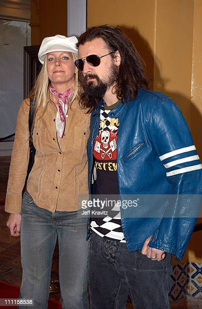 Sheri Moon Rob Zombie during Daredevil Premiere at Mann Village in Los Angeles CA United States
