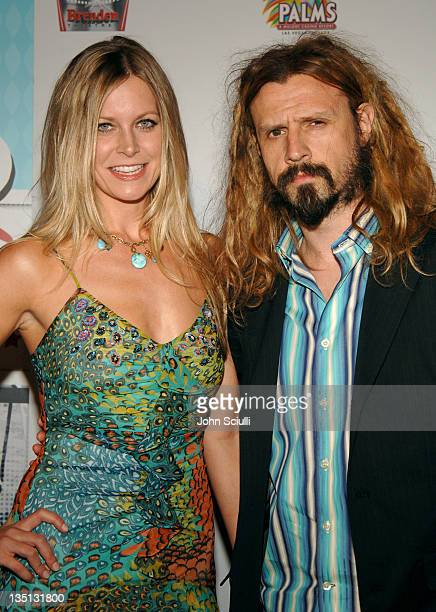 Sheri Moon Zombie and husband Rob Zombie during CineVegas Film Festival 2005 Devil's Rejects Premiere at Brenden Theatres in Las Vegas Nevada United...