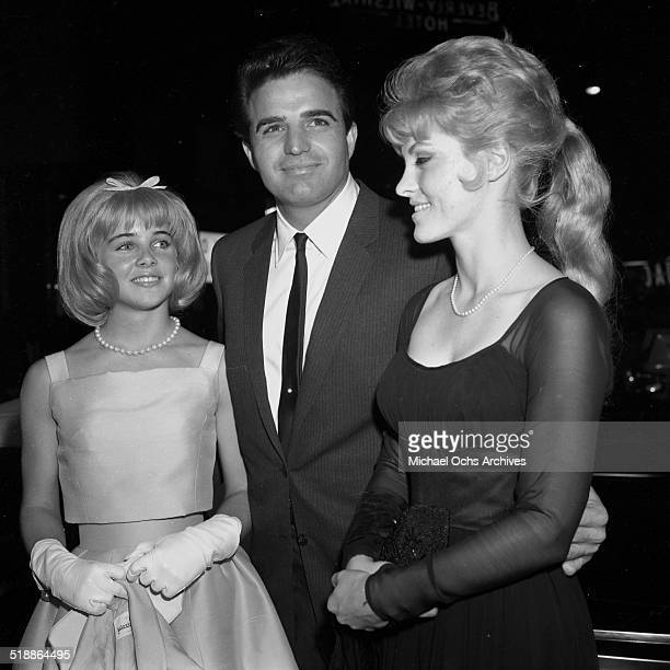 Sheri Nelson Vince Edwards and Sue Lyon attend the movie premiere of Lolita in Los AngelesCA