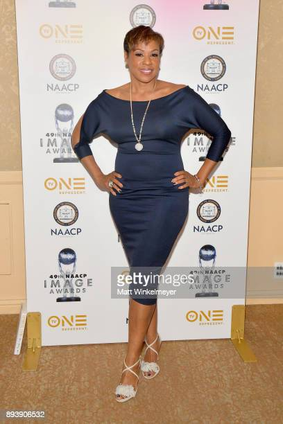 Sheri Riley attends the 49th NAACP Image Awards Nominees' Luncheon at The Beverly Hilton Hotel on December 16 2017 in Beverly Hills California