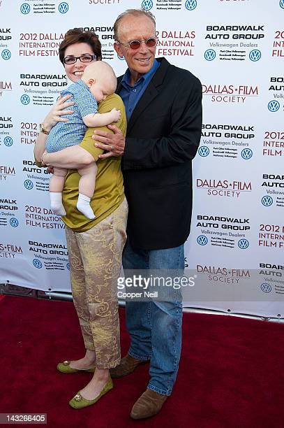 Sheri Stowe Weller Peter Weller and son Teddy arrive for the 25th anniversary screening of ROBOCOP at The Texas Theatre presented by the Dallas...