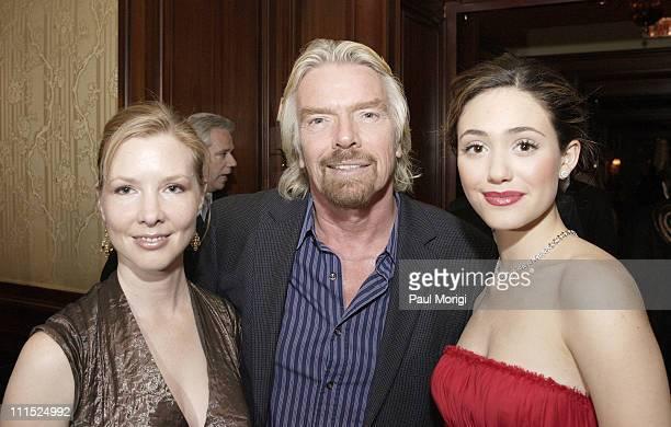 Sheri Turnbow Sir Richard Branson and Emmy Rossum