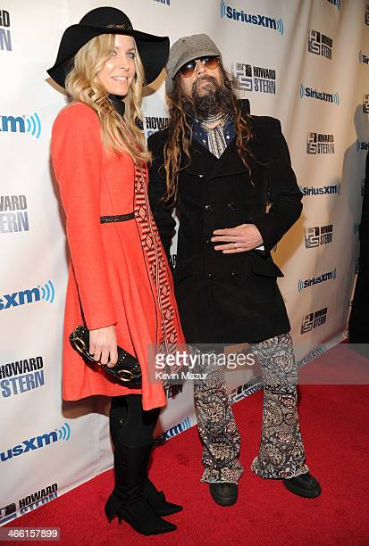Sheri Zombie and Rob Zombie attend 'Howard Stern's Birthday Bash' Presented By SiriusXM Produced By Howard Stern Productions at Hammerstein Ballroom...
