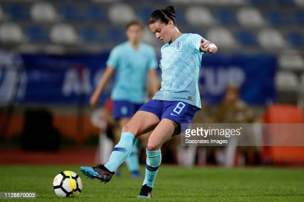 Sherida Spitse of Holland Women during the Algarve Cup Women match between China PR v Holland at the Estadio Municipal de Albufeira on March 6, 2019...