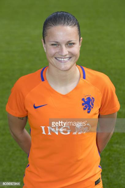 Sherida Spitse of Holland Womenduring the team presentation of women Netherlands on July 02 2017 at the KNVB campus in Zeist The Netherlands