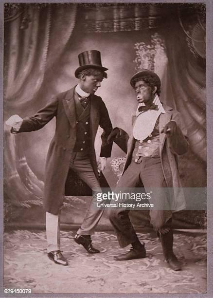 Sheridan and Flannagan, Minstrel Team, circa 1900.