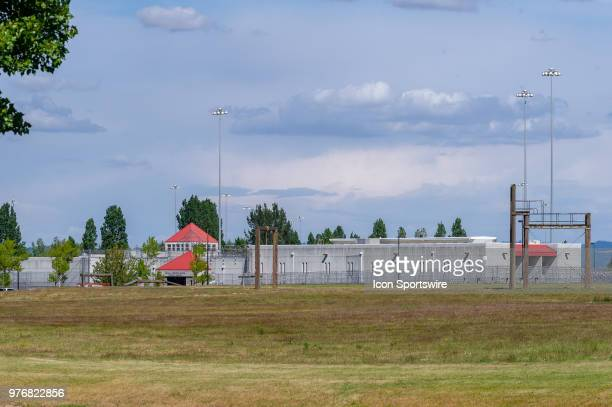 Sheridan federal prison where about 123 immigrants are housed responding to the surge on prosecutions to refugees and illigal immigrants under the...