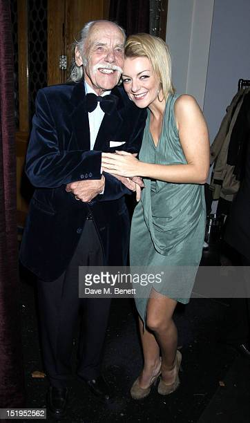 Sheridan Smith and her father Colin Smith attend the Hedda Gabler Opening Night After Party on September 12 2012 in London England