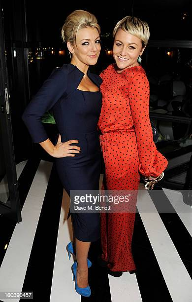 Sheridan Smith and Jaime Winstone attend the InStyle Best Of British Talent party in association with Lancome and Avenue 32 at Shoreditch House on...