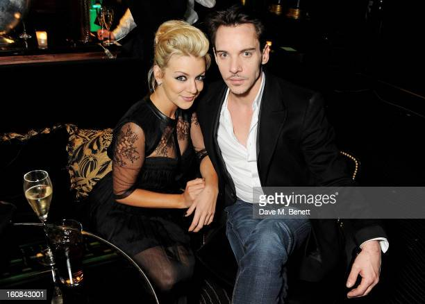 Sheridan Smith and Jonathan Rhys Meyers attend the PreBAFTA Party hosted by EE and Esquire ahead of the 2013 EE British Academy Film Awards at The...