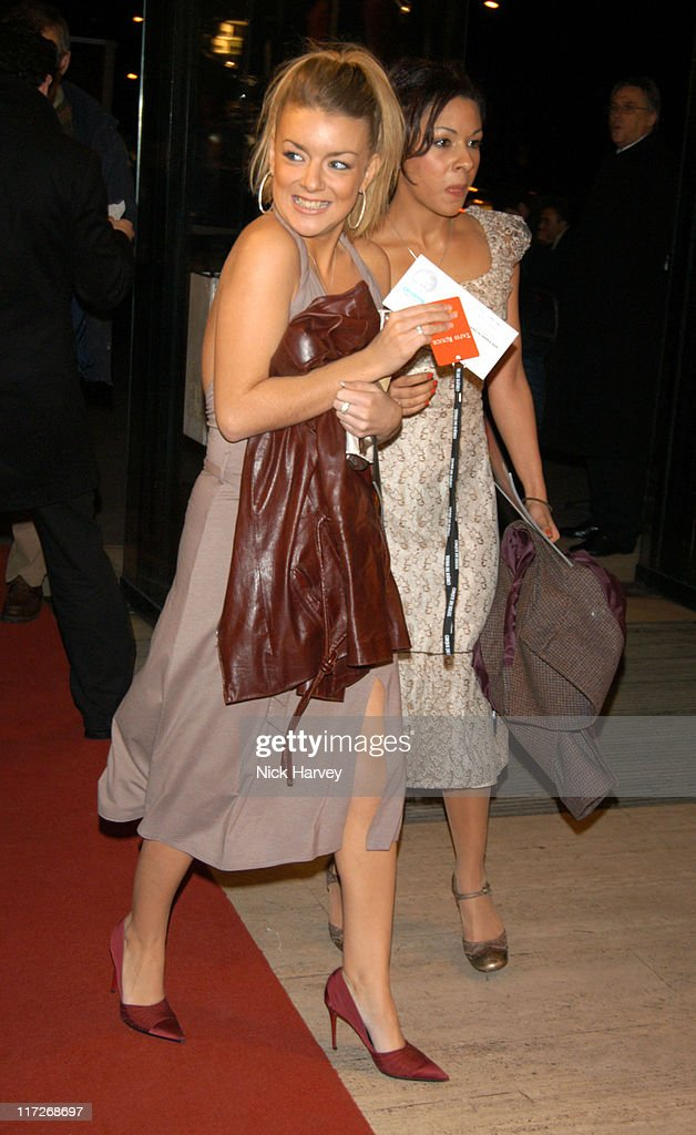 Sheridan Smith and Kathryn Drysdale during Cirque du Soleil's 20th Anniversary of Dralion - Arrivals at The Royal Albert Hall in London, Great Britain.