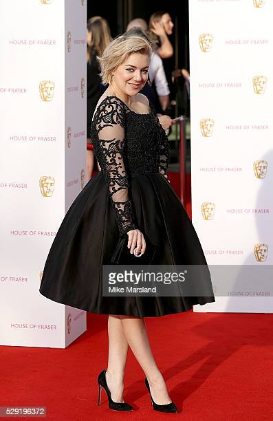 Sheridan Smith arrives for the House Of Fraser British Academy Television Awards 2016 at the Royal Festival Hall on May 8 2016 in London England