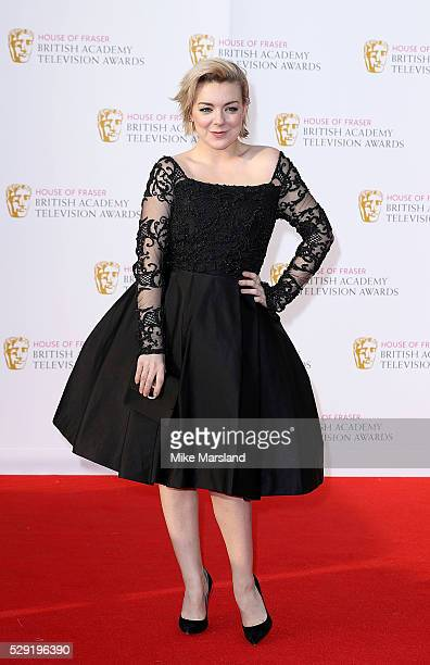 Sheridan Smith arrives for the House Of Fraser British Academy Television Awards 2016 at the Royal Festival Hall on May 8, 2016 in London, England.