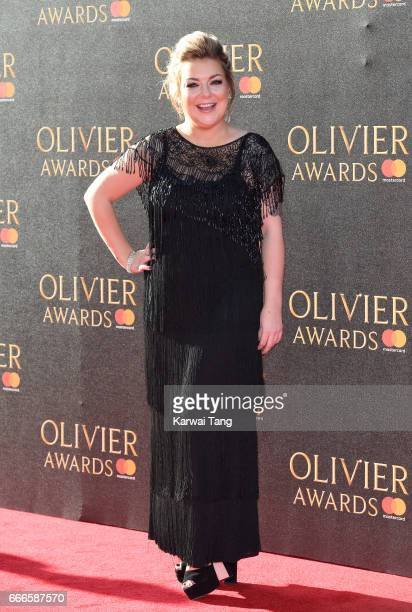 Sheridan Smith arrives for The Olivier Awards 2017 at the Royal Albert Hall on April 9 2017 in London England