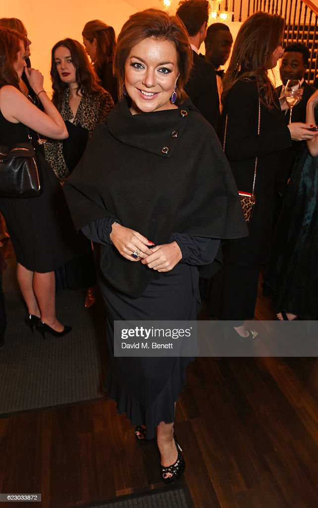 Sheridan Smith attends a cocktail reception at The 62nd London Evening Standard Theatre Awards, recognising excellence from across the world of theatre and beyond, at The Old Vic Theatre on November 13, 2016 in London, England.