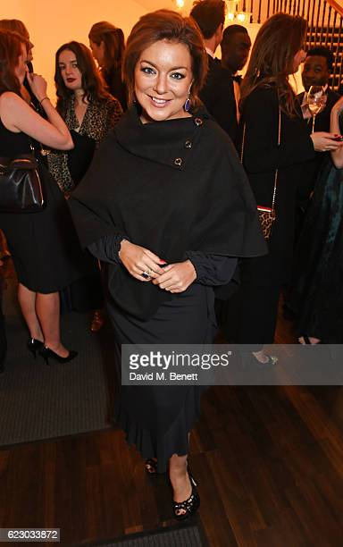 Sheridan Smith attends a cocktail reception at The 62nd London Evening Standard Theatre Awards recognising excellence from across the world of...