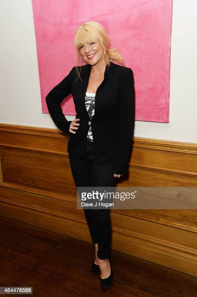 Sheridan Smith attends a Gala Screening of 'The Guest' at Soho Hotel on September 1 2014 in London England