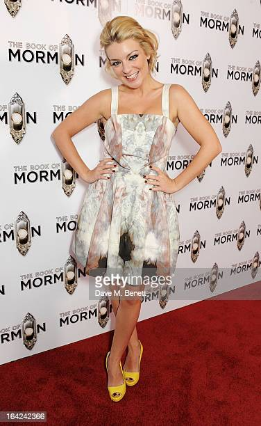 Sheridan Smith attends an after party following the press night performance of 'The Book of Mormon' at the Natural History Museum on March 21 2013 in...