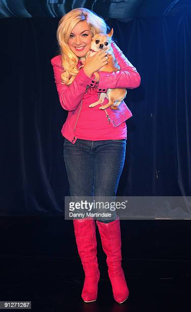 Sheridan Smith attends launch photocall for Legally Blonde: The Musical at Cafe de Paris on September 30, 2009 in London, England.