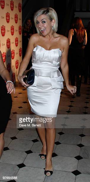 Sheridan Smith attends the Cosmopolitan Ultimate Women Of The Year Awards at the Banqueting House on November 11 2009 in London England