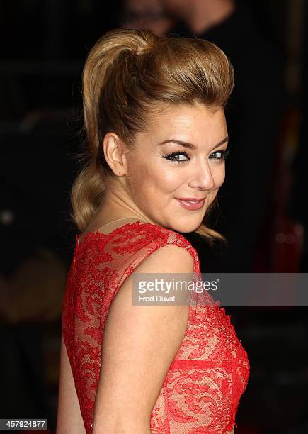Sheridan Smith attends 'The Harry Hill Movie' World Premiere at Vue Leicester Square on December 19 2013 in London England