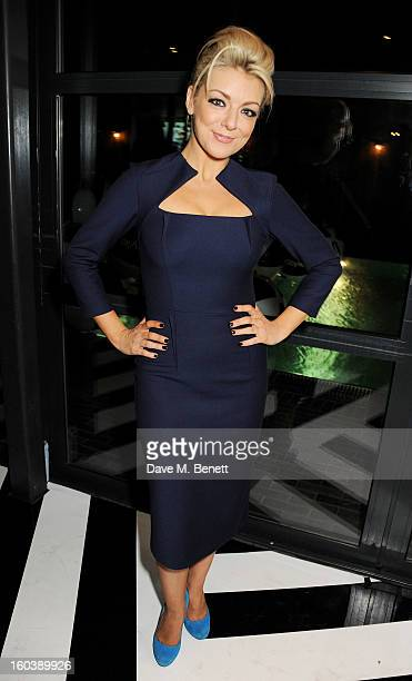 Sheridan Smith attends the InStyle Best Of British Talent party in association with Lancome and Avenue 32 at Shoreditch House on January 30 2013 in...