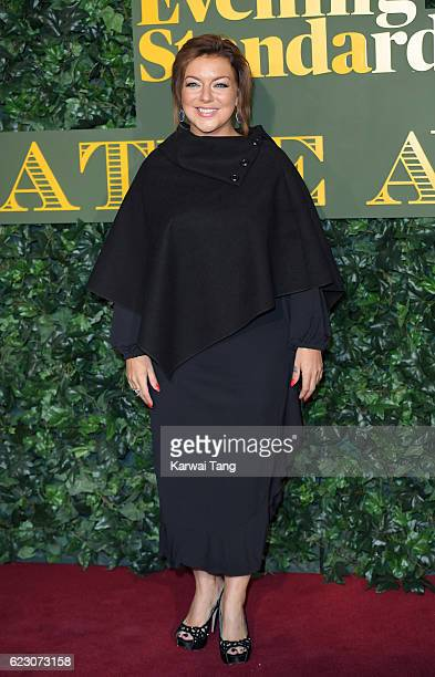 Sheridan Smith attends The London Evening Standard Theatre Awards at The Old Vic Theatre on November 13 2016 in London England