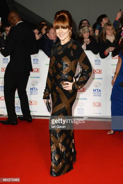 Sheridan Smith attends the National Television Awards at 02 Arena on January 22 2014 in London England