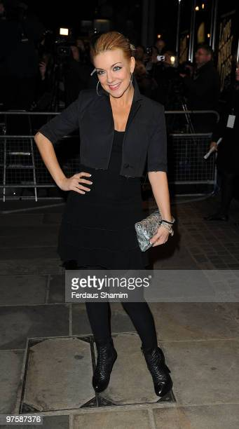 Sheridan Smith attends the premiere of Love Never Dies at the Adelphi Theatre on March 9 2010 in London England