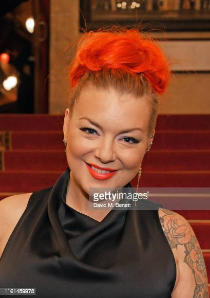 """Sheridan Smith attends the press night after party for """"Joseph And The Amazing Technicolor Dreamcoat"""" at The London Palladium on July 11, 2019 in..."""