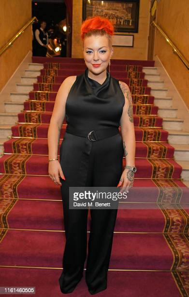 Sheridan Smith attends the press night after party for Joseph And The Amazing Technicolor Dreamcoat at The London Palladium on July 11 2019 in London...