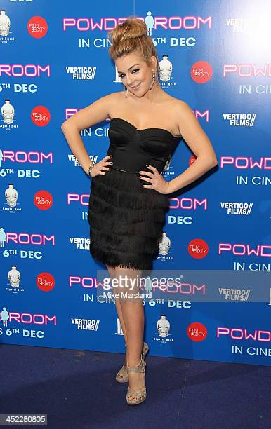 Sheridan Smith attends the UK Premiere of 'Powder Room' at Cineworld Haymarket on November 27 2013 in London England