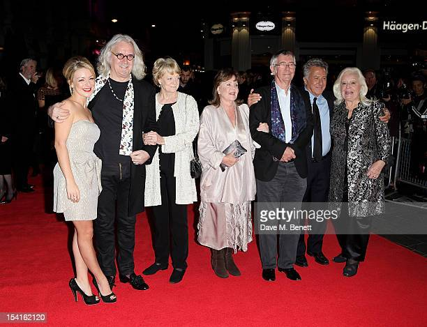Sheridan Smith Billy Connolly Dame Maggie Smith Pauline Collins Tom Courtenay director Dustin Hoffman and Dame Gwyneth Jones attend the Premiere of...