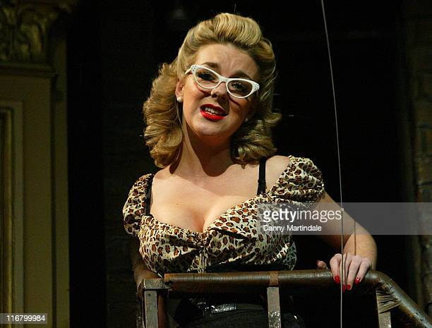 Sheridan Smith during 'Little Shop Of Horrors' London Press Photocall at Duke of York's Theatre in London United Kingdom