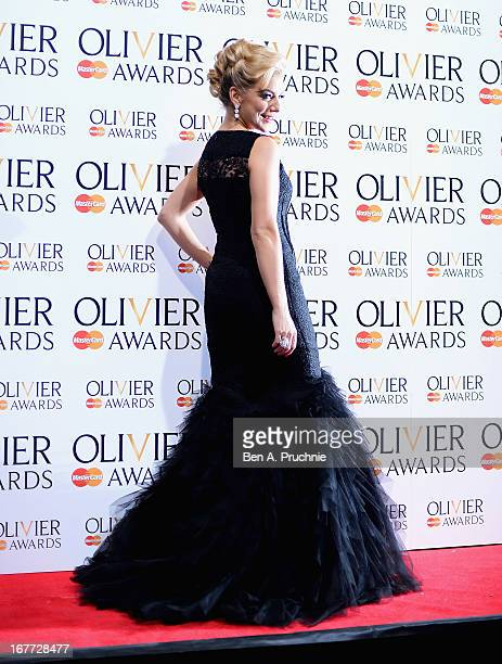 Sheridan Smith during The Laurence Olivier Awards at the Royal Opera House on April 28 2013 in London England