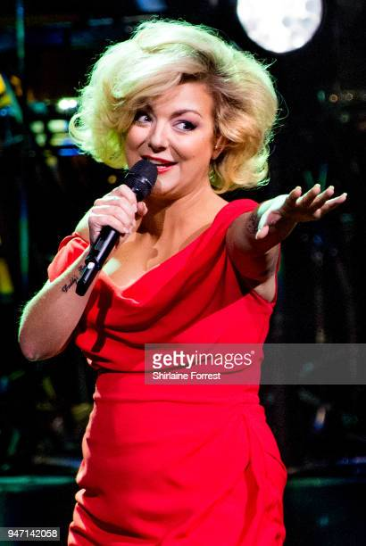 Sheridan Smith performs live on stage at The Bridgewater Hall on April 16 2018 in Manchester England
