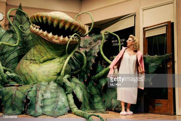 Sheridan Smith performs on stage during the photocall for new West End musical Little Shop Of Horrors at the Duke of York's Theatre on March 09 2007...