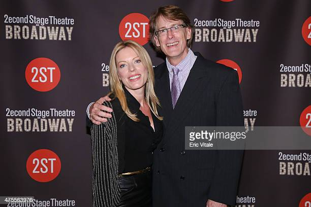 Sherie Rene Scott and Dick Scanlan attend the Second Stage 36th Anniversary Gala at 583 Park Avenue on June 1 2015 in New York City
