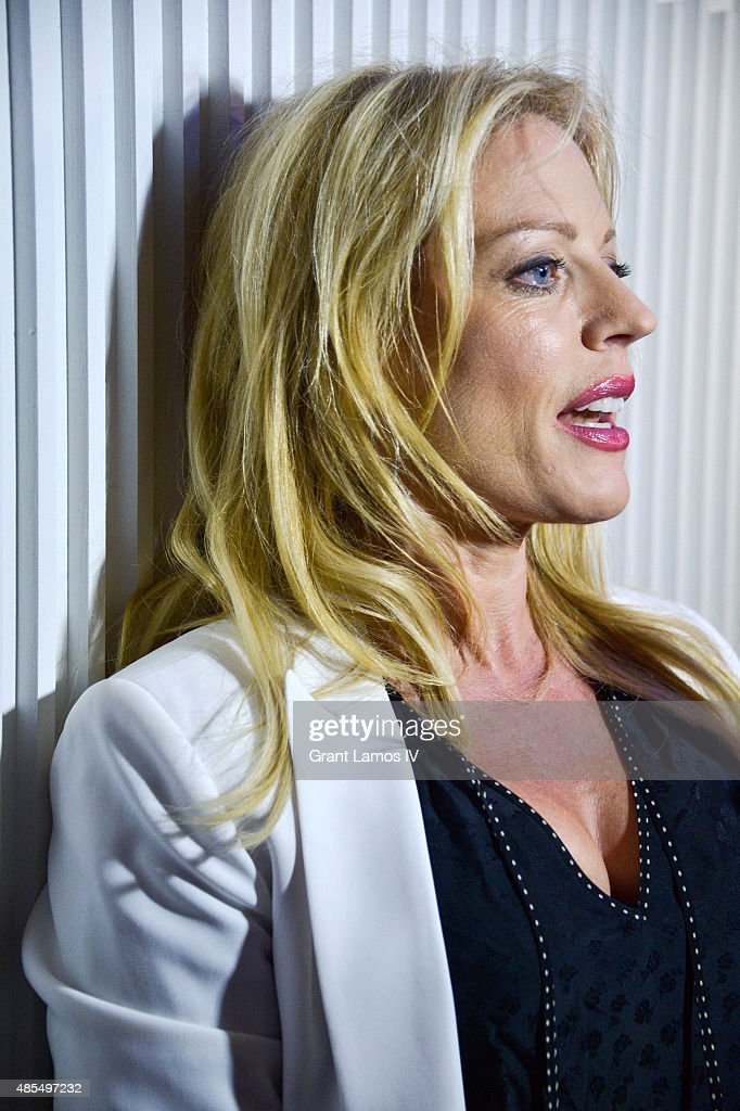 Sherie Rene Scott attends the 'Whorl Inside A Loop' off-broadway opening night after party at Four at Yotel on August 27, 2015 in New York City.