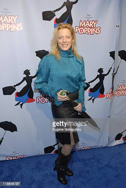 Sherie Rene Scott during 'Mary Poppins' Broadway Opening Night at the New Amsterdam Theatre Arrivals November 16 2006 at New Amsterdam Theatre in New...