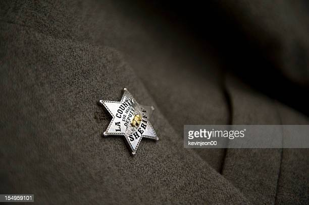 sheriff badge - sheriff stock pictures, royalty-free photos & images